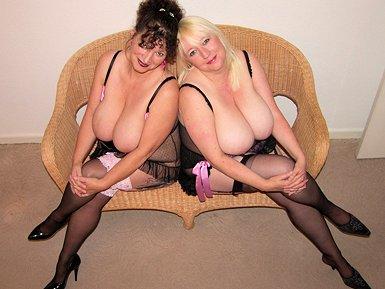 Busty Blonde Milf Fucking in Sexy Black Stockings -